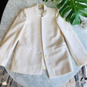 Stella McCartney Ivory Blazer 10 US/ 44 IT